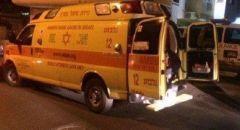 يافة الناصرة :اصابة شاب بجراح بالغة الخطورة إثر شجار عنيف