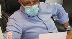 أيمن سيف يدعو لمواصلة التطعيم بعد 14 ألف تطعيم في المجتمع العربي.