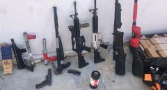 تصريح مدعٍ ضد مشتبه من يركا بشبهة حيازة اسلحة وذخيرة.