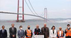 """تركيا.. جسر """"جناق قلعة 1915"""" يشارف على الاكتمال"""