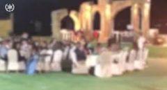 ضبط حفل زفاف داخل قاعة افراح في كفرقرع