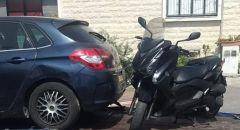 باقة الغربية: ضبط مواطن بقيادة دراجة نارية برفقة طفله بدون خوذة واقية