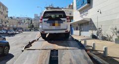 حيفا: ضبط فتى قاصر يقود مركبة