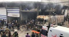 سوريا .. قتلى وجرحى بانفجار ضخم في ريف حلب