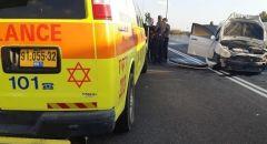 مصرع شابة في حادث طرق ذاتي قرب مفرق اللد