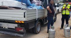 برطعة : ضبط عشرات اسطوانات الغاز غير قانونية وبدون التراخيص اللازمة