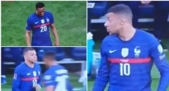 مارسيال يحرج زميله مبابي في مباراة فرنسا وكازاخستان
