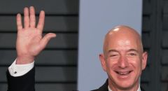 """مدير """"أمازون"""" جيف بيزوس يتصدر قائمة أثرياء العالم"""
