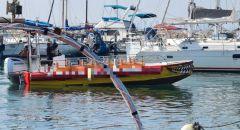 عكا : مخالفة 4800 شيكل لطفل يقود زورق بالميناء