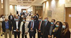بأغلبية 15 عضو لجنة الانتخابات المركزية تصوت ضد شطب القائمة المشتركة