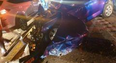 4 اصابات في حادث طرق بمدخل بلدة يانوح- جث