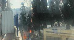المستشفى الفرنسي في الناصرة ينفي قيام أشخاص بافتعال حريق متعمد في المكان