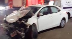 إصابة 4 شبان بحادث طرق على الشارع الرئيسي في كفركنا