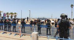 يافا : تجدد المواجهات واعتقالات بعد قرار المحكمة بوقف العمل بالمقبرة