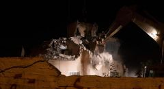 الجيش الإسرائيلي يهدم منزل المدعو قاسم شبلي من قرية كوبر قرب رام الله
