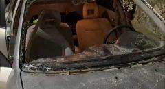 القاء قنبلة على سيارة في مدينة سخنين