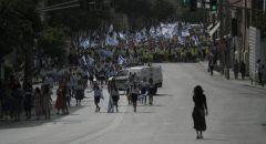 منظمات صهيونية تدعو لمسيرة اعلام في القدس وحماس تحذر
