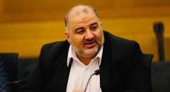 رئيس الدولة ريڤلين يشكر النائب منصور عباس على خطابه الإنساني في ذكرى الكارثة ويهنئه برمضان