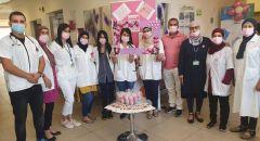 أكتوبر الوردي في عيادة كلاليت في سخنين