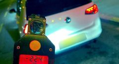 ضبط سائق من ام الفحم يقود بسرعة 224 كم/س على شارع 65