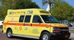 حيفا: إصابة حرجة لشاب بحادث طرق