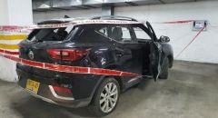 مواجهات مع الشرطة في بني براك... تحطيم سيارة شرطة واصابة شرطية واعتقال مشتبهين