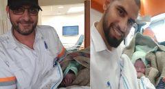 الطيبة: ولادة طفلٍ داخل سيارة إسعاف مركز تميم الطبي