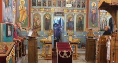 مباشر : صلاة الختن من كنيسة القديس جوارجيوس للروم الاورثوذكس الرامة
