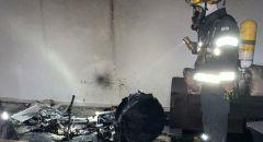 الخضيرة: اندلاع حريق داخل شقة سكنية