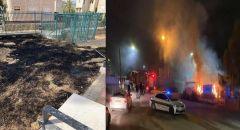 طرعان: اضرام النار في ملعب شرقي البلدة والجلس المحلي يستنكر