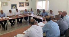 الـلـجـنـة القطرية : المجلس العام للجنة القطرية يُؤكد مواصلة الإضراب المفتوح في السلطات المحلية العربية