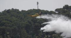 اندلاع حريق بمنطقة اشواك وعرية في يافة الناصرة