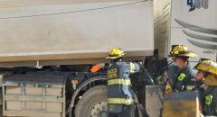 مصرع عامل بعد ان علق داخل شاحنة بورشة بناء في كفرقاسم
