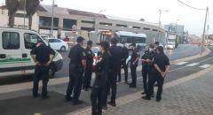 الشرطة تقتحم مقبرة الإسعاف في يافا