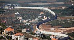 عملية تفتيش عند الحدود اللبنانية يجريها الجيش الإسرائيلي