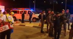 دهس شرطي حرس الحدود في معبر الأنفاق في القدس