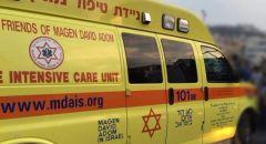 الناصرة : اصابة شاب 34 عام ونقله للمستشفى