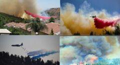 الاعلان عن السيطرة الكاملة على النيران في جبال القدس