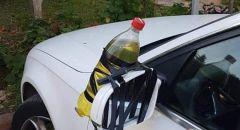جديدة المكر: زجاجة حارقة على سيارة محاسب المجلس المحلي