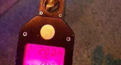 ضبط شاب من ام الفحم يقود بسرعة 200 كم / ساعة على شارع 65