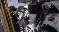 اندلاع حريق بسيارتين في كفرياسيف