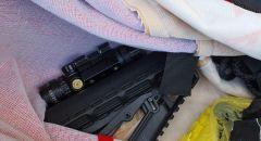 الشرطة تلقي القبض على 4 مشتبهين من شقيب السلام  بشبهة حيازة اسلحة غير قانونية