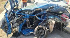 إصابتان بجراح متفاوتة في حادث طرق بين شاحنة وسيارة قرب رهط