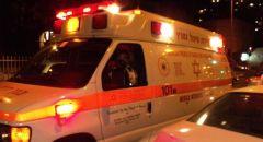 اصابة شابة بحادث طرق في عسفيا