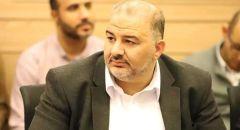 النائب منصور عباس يطالب بتعيين مسلم رئيسًا لقسم الأديان