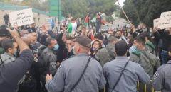 الناصرة: مواجهات عنيفة مع قوات الشرطة واعتقالات خلال احتجاجات على زيارة نتنياهو
