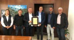 بلدية سخنين تكرم مدراء وطواقم صناديق المرضى ،وأعضاء لجنة الطوارئ في بلدية سخنين.