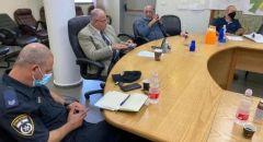 بلدية الطيبة: جلسة عمل مهنية مع شركة نتيڤي يسرائيل