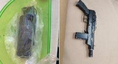 الطيرة: ضبط سلاح وقنبلة خلال تفتيش منزل