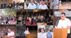 الرامة : اجتماع حاشد ضد قرار اخلاء بيت قزعورة ،والمحكمة تأجل الاخلاء